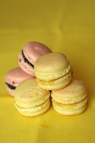 Et voilà…..mes Macarons!