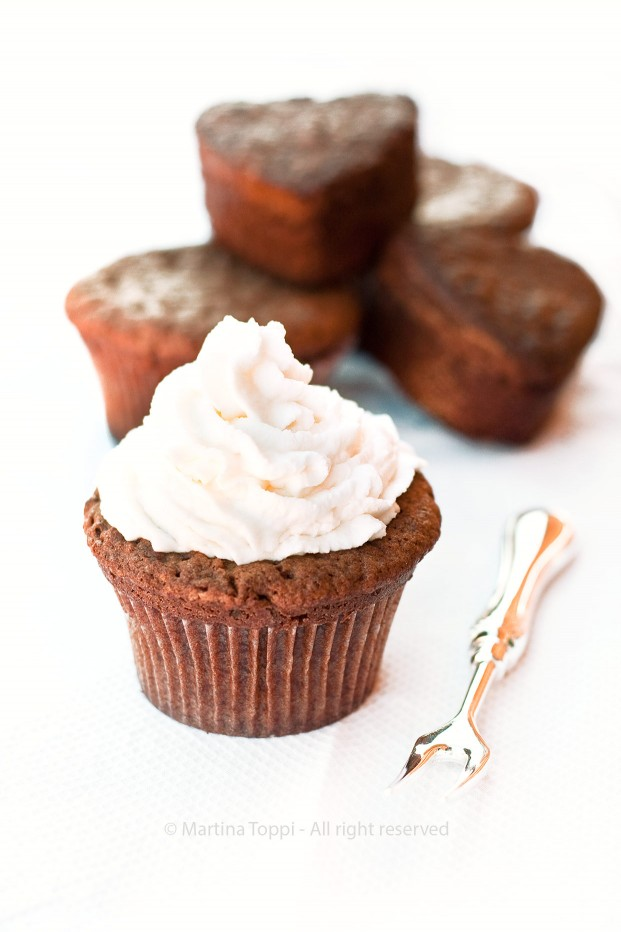 Cupcake al cioccolato...buonissimi