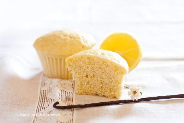 muffin vaniglia e limone