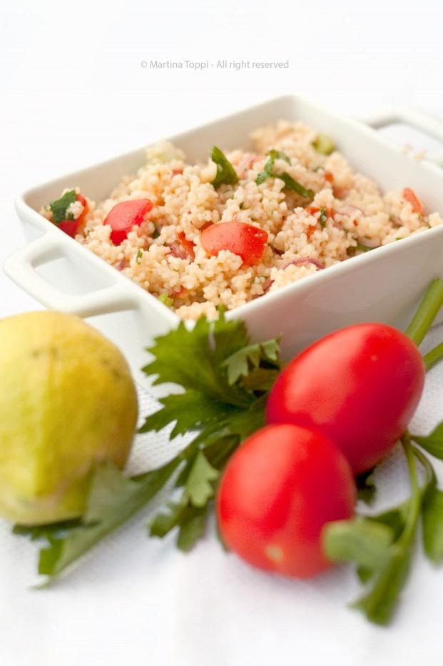 Tabulè o insalata di cous cous
