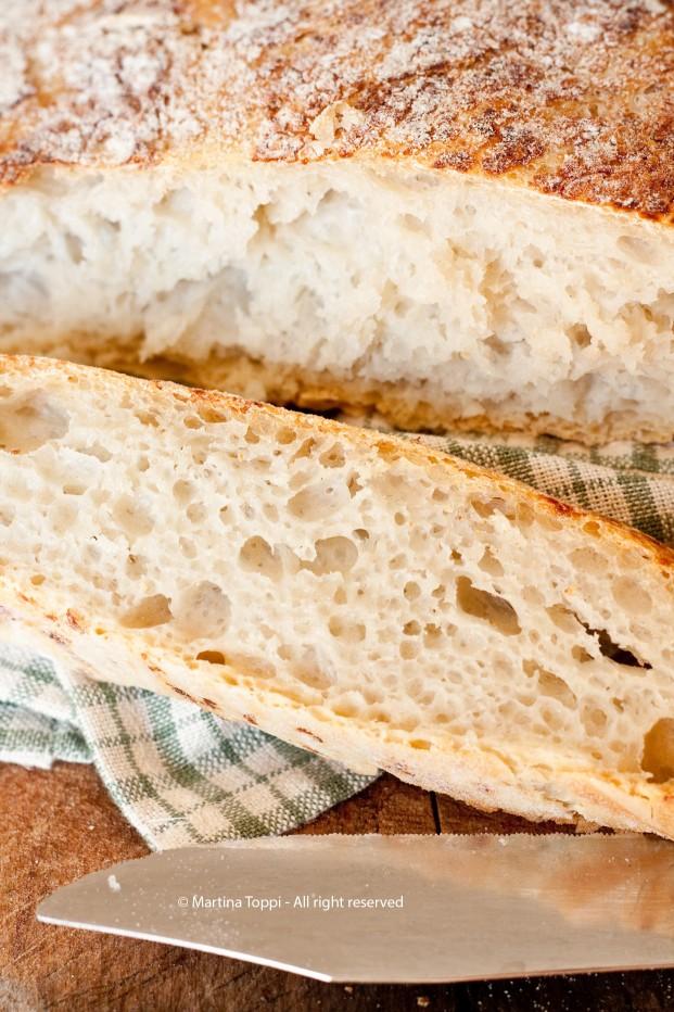 No-knead bread ovvero il pane senza impasto