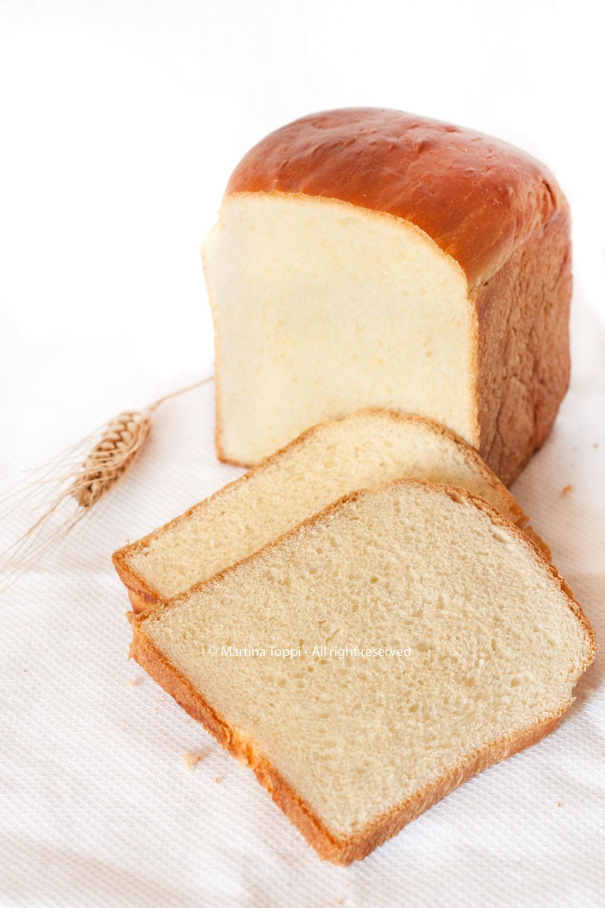 Pane alla crema pasticcera
