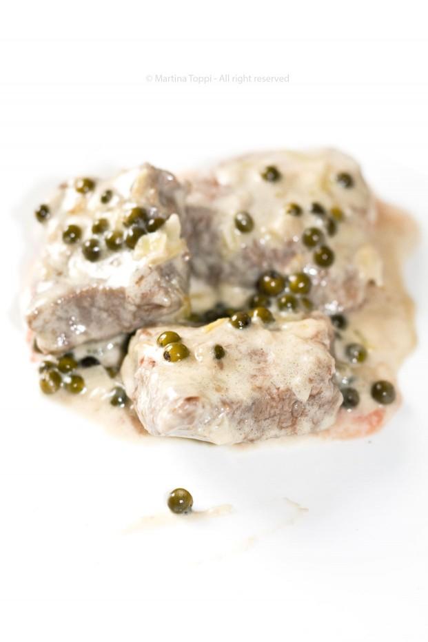 Filetto al pepe verde....qui non si scherza...;)