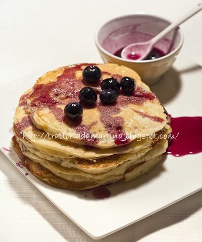 pancake allo sciroppo