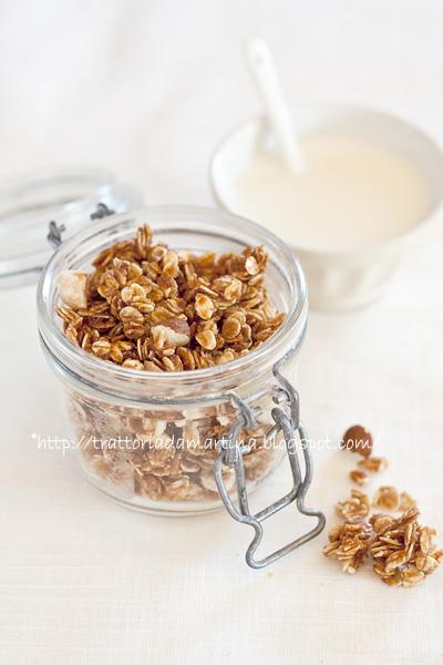 muesli o granola homemade
