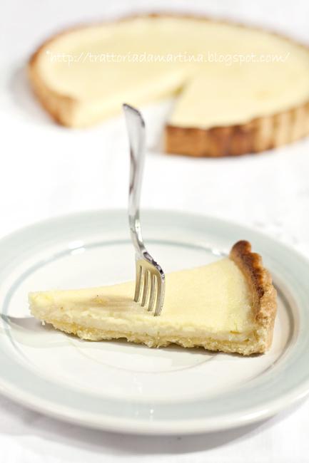 Cheese tart al limone