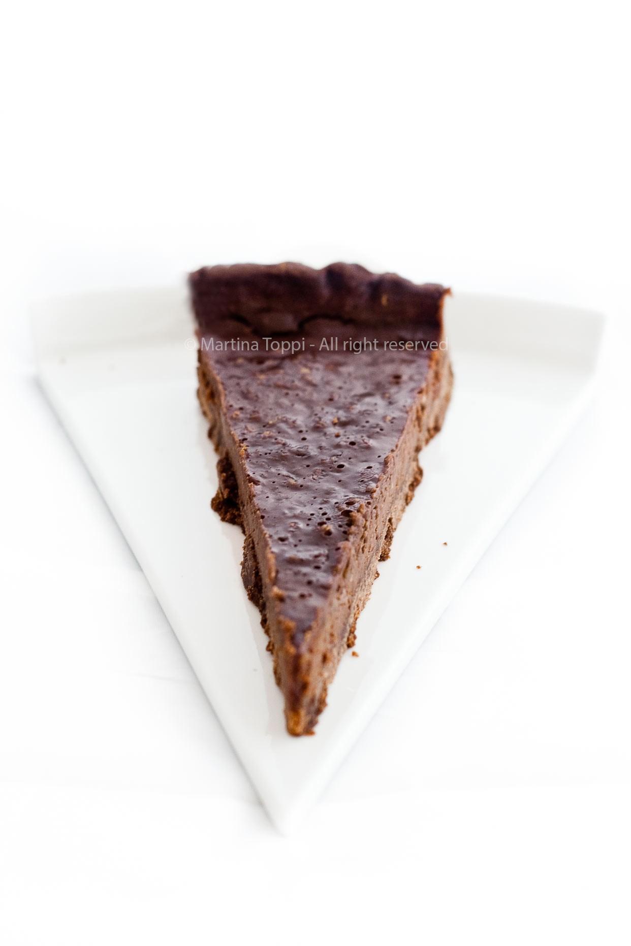 tarte al cioccolato