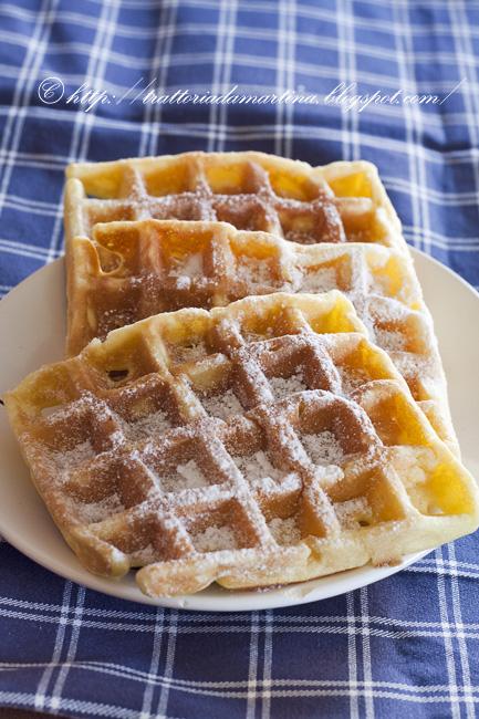 Waffle II la vendetta: più soffici, più gustosi. In una parola: buonissimi! ®