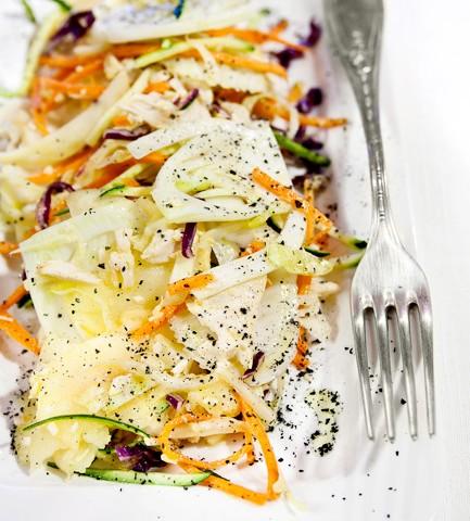 insalata di pollo del riciclo