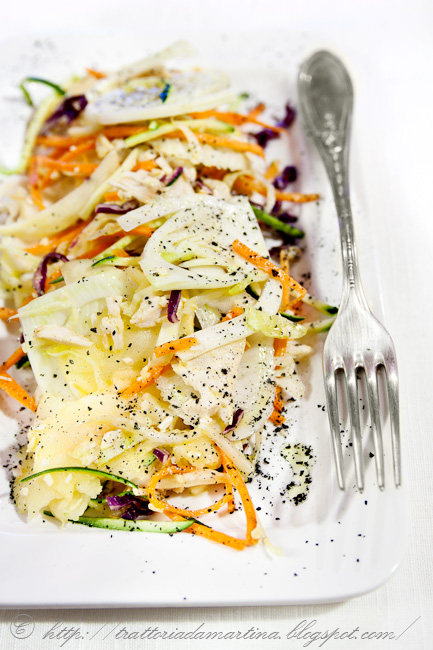 L'insalata di pollo del riciclo