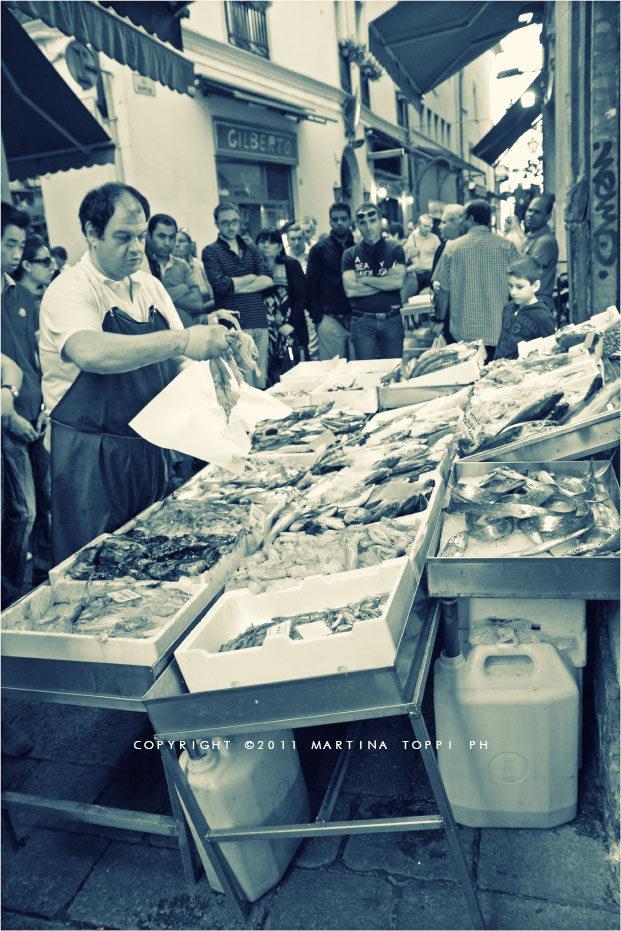 mercato del pesce Bologna