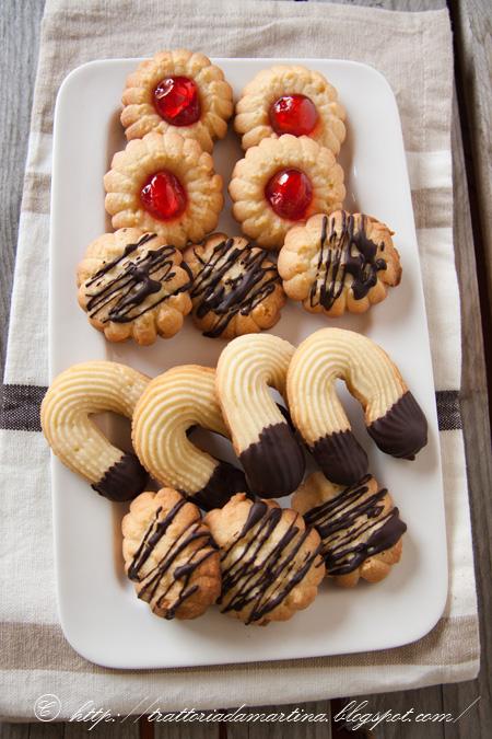 Biscotti da the di frolla montata tipo Ore Liete