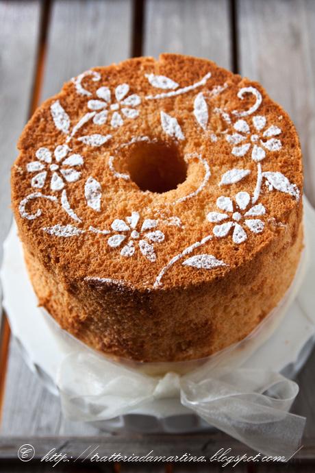 Chiffon cake e una sorpresa per me!