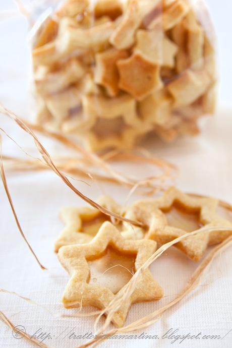 Idea regalo per Natale: biscottini di vetro
