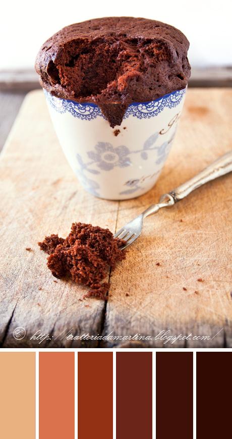 soufflè al cioccolato in 5 minuti