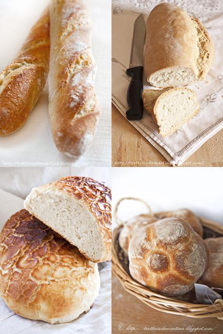 Bread selection e una buona domenica a tutti
