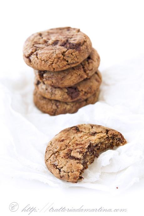 american chocolate chip cookies gli originali trattoria da martina. Black Bedroom Furniture Sets. Home Design Ideas