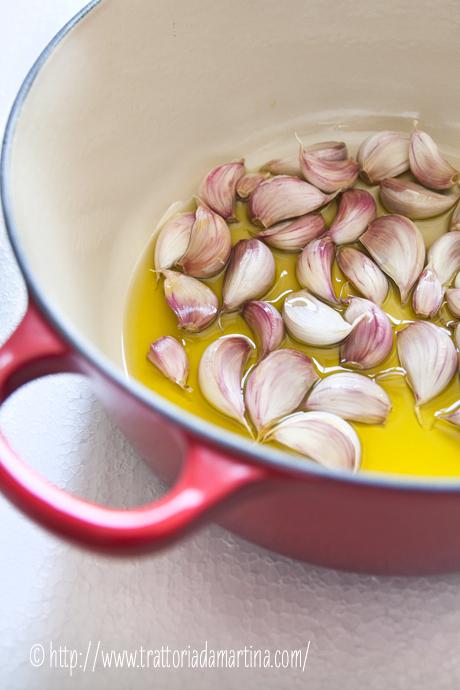 40 spicchi d'aglio