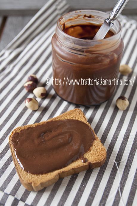 Ricetta Nutella Fatta In Casa.La Mia Nutella Fatta In Casa C Trattoria Da Martina