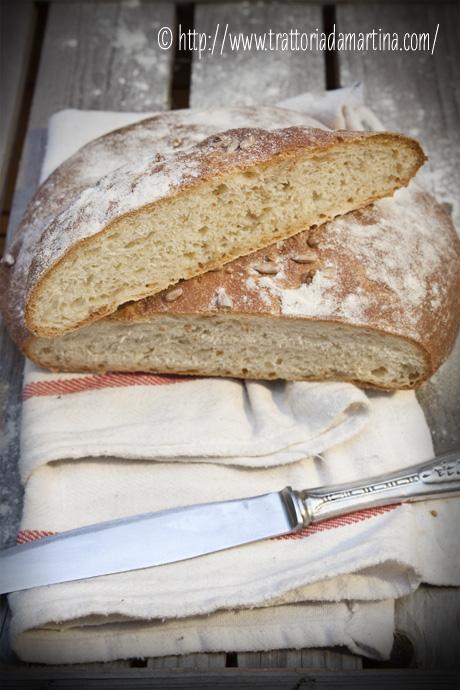 Pagnotta di pane al Kamut