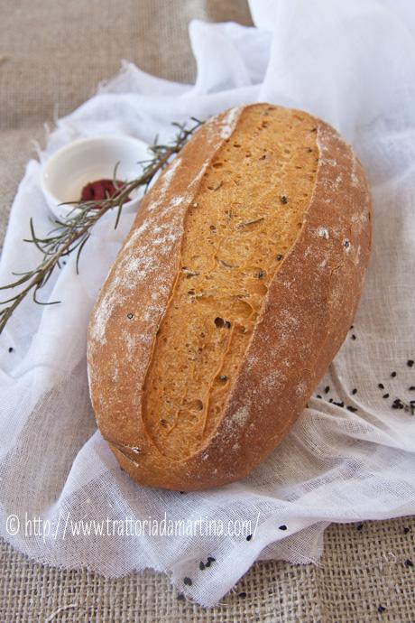 Pane senza impasto al pomodoro