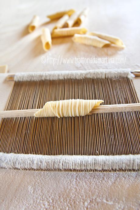 Garganelli di pasta fresca al kamut