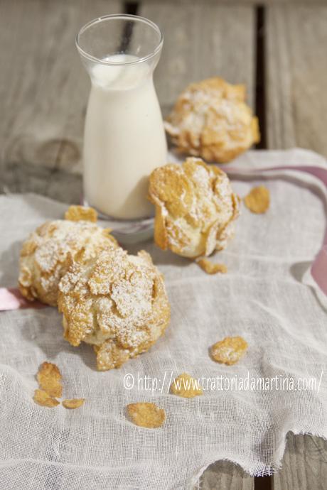 Rose del deserto: biscotti ai corn flakes