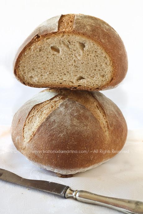 Pane di farina di grano duro ed Enkir