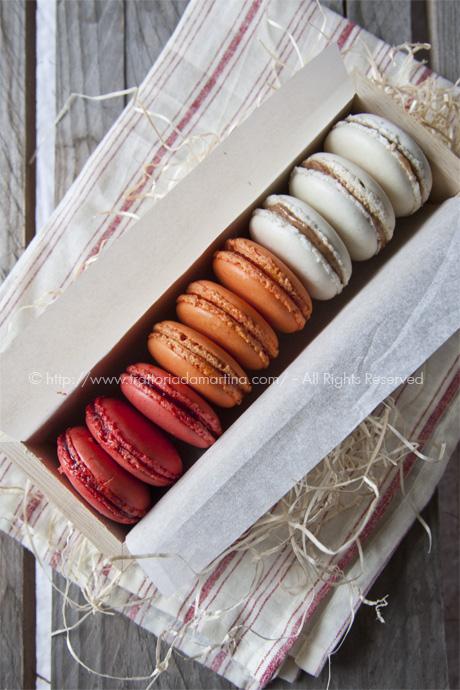 Macarons di Maurizio Santin 2: un'idea per i regalini di Natale