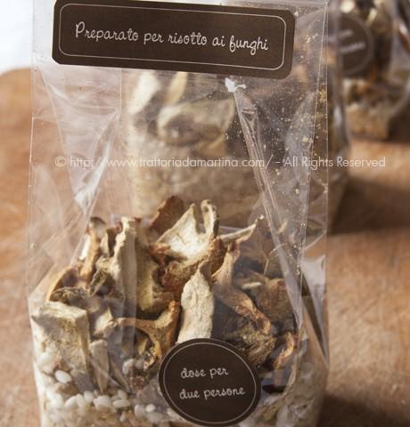 preparato per risotto ai funghi