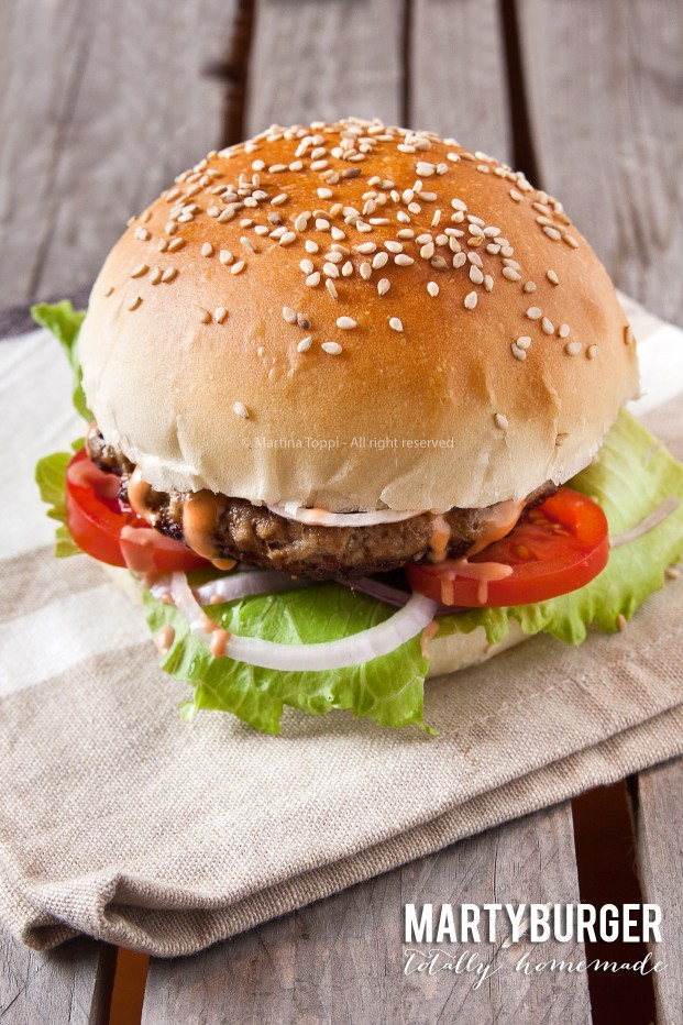L'hamburger di McDonald's totally homemade ovvero il Martyburger