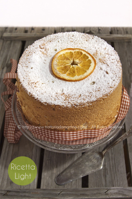 Angel food cake di Montersino: come ti riciclo gli albumi