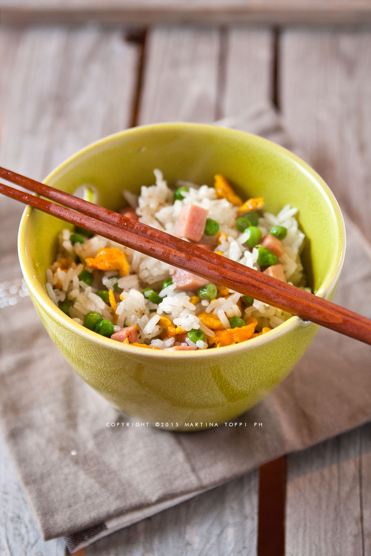 Riso alla cantonese ricetta orientale trattoria da martina for Ricette cinesi riso