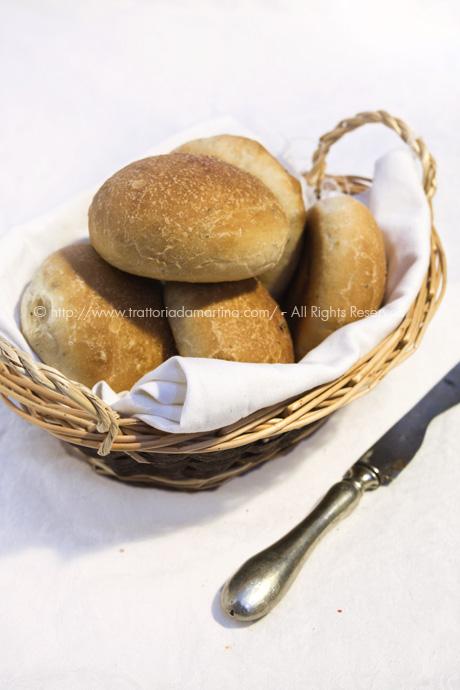 Panini con fave di cacao e fleur de sel