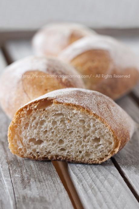 Spighe di pane: l'interno