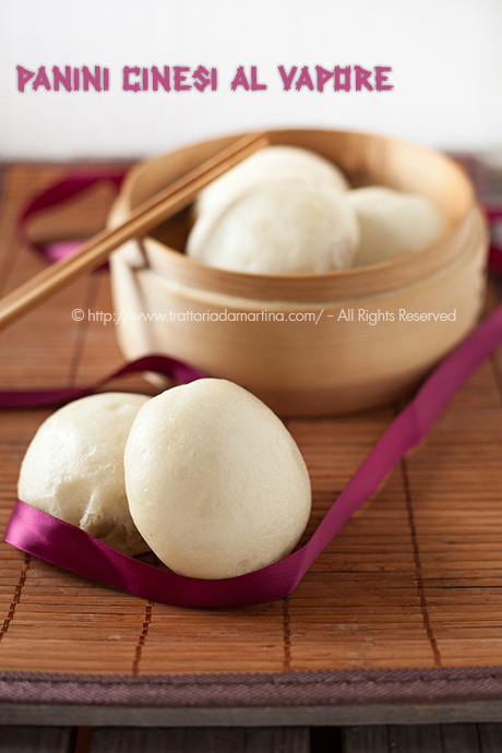 Panini cinesi al vapore (Mantou)