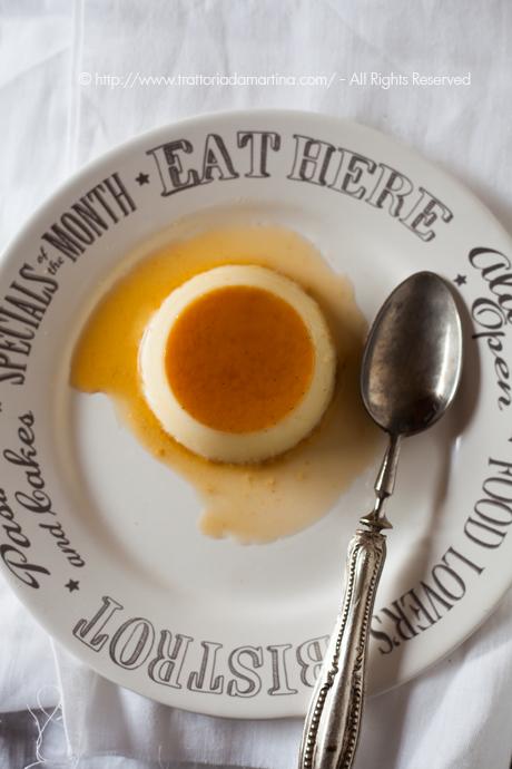 Il crème caramel alla vaniglia