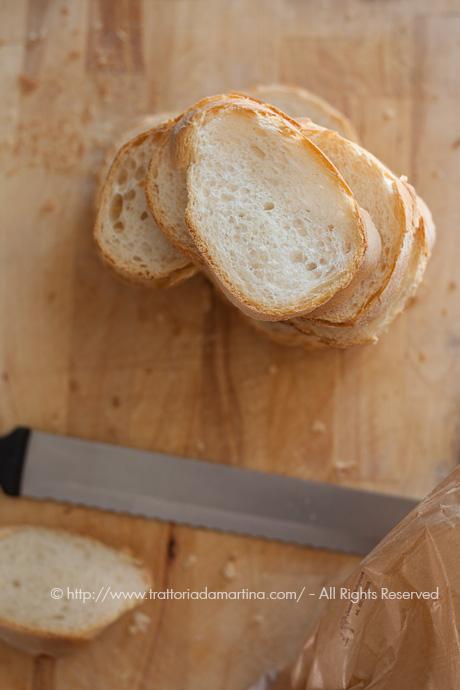 Fette di pane toscano