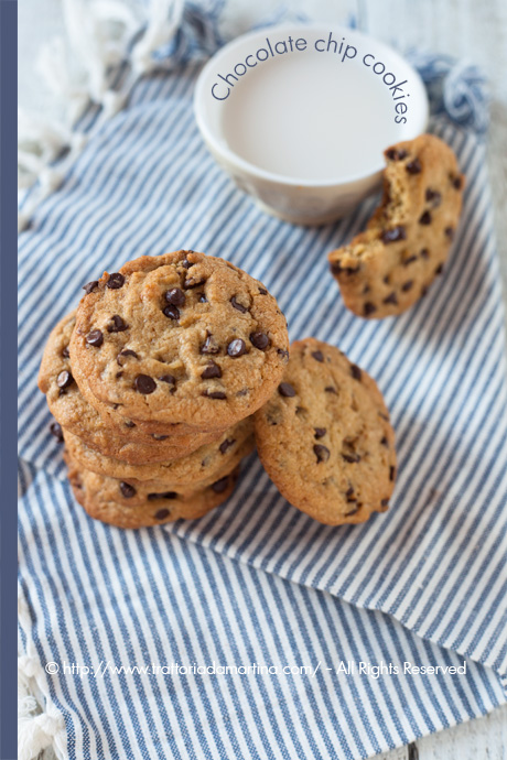 Chocolate chip cookies seconda versione