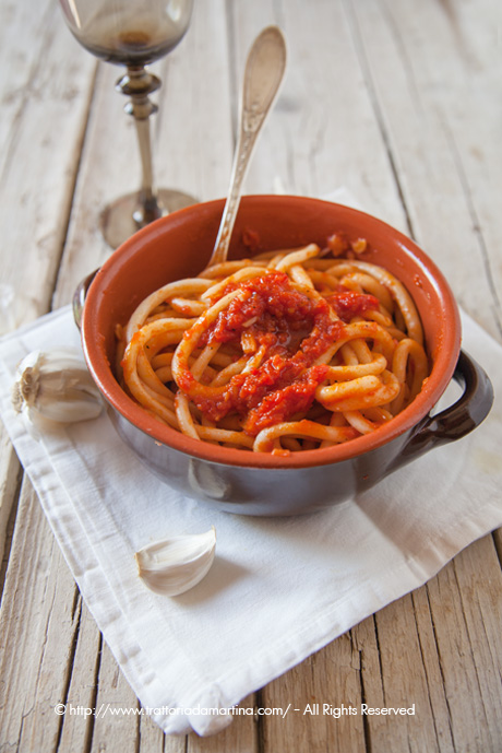 Pici all'aglione (con tutorial per la formatura)