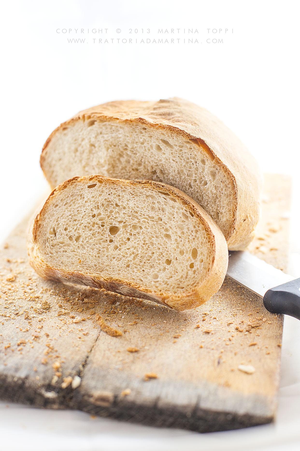 Pane con farro e farina tipo 1