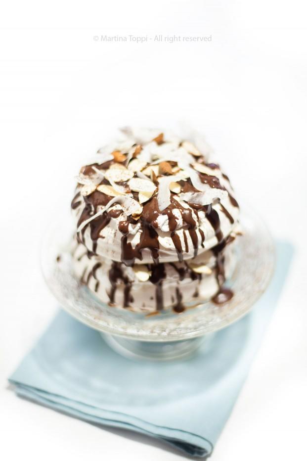 Pavlova al cioccolato