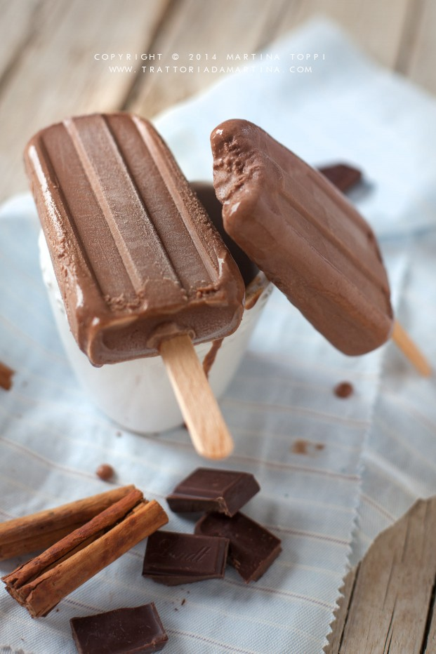 Mexican chocolate pops