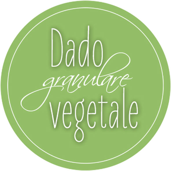 Etichetta dado granulare vegetale