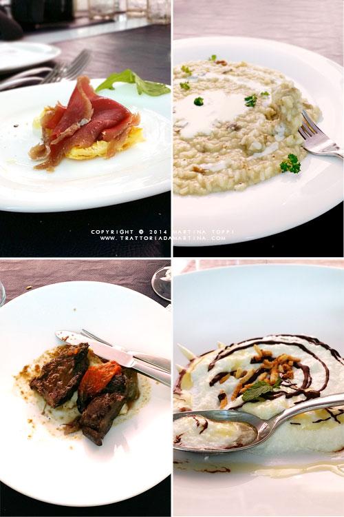 Piatti ristorante Squisitia di Pisa