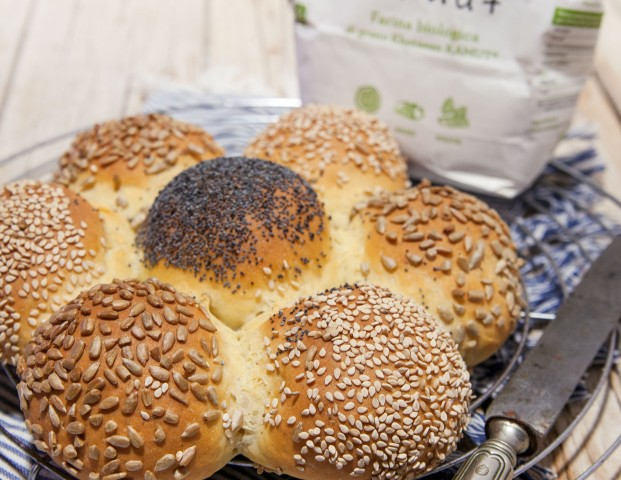Margherita di pane al Kamut