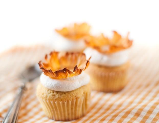 Cupcake multicereali con ananas