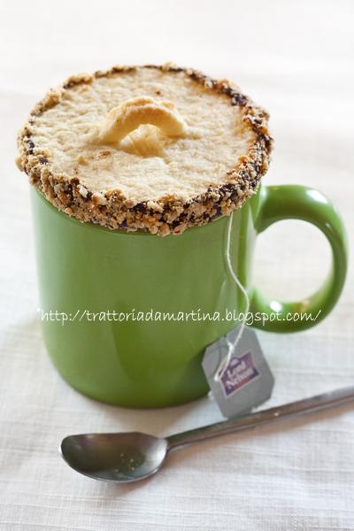 Coperchi di biscotto per tazza da te