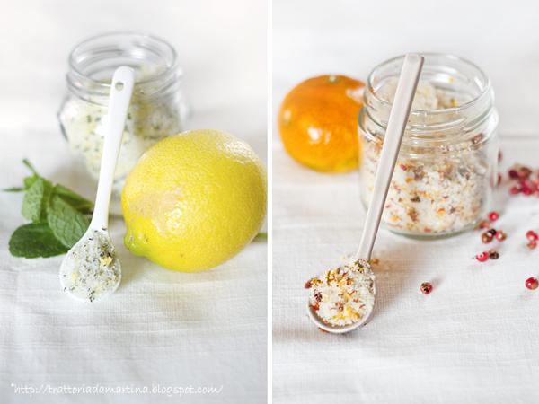 Vasetti di sale aromatico