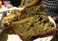 panettone pistacchio e fondente